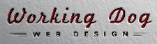 Working Dog Web Design Logo